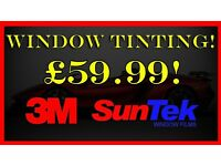 SUNTEK £59.99 WINDOW TINT FILM TINTING