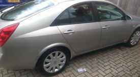 Lovely Clean Primera high spec, SX ,05 , Allow, camera, Navigation, New Discs and pads, Battery