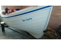 16ft Orkney Longliner with Suzuki 8hp outboard