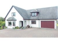 DESIRABLE DETACHED 3/4 BEDROOM FAMILY HOME IN LARGE MATURE GARDEN IN INVERNESS