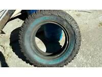 4x4 mud tyres x2