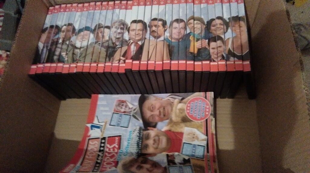 only fools & horses complete collection with collectors magazines