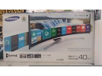 "Samsung 40"" Curved Smart TV - Perfect Condition - Still Under Warranty"