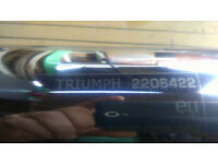 Triumph America Exhaust Muffler.