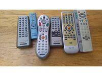 tv/dvd/radio cassette/tivo/sony/alba/thomson/panasonic remotes