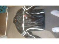 Men's PVC Leather Jacket - Large