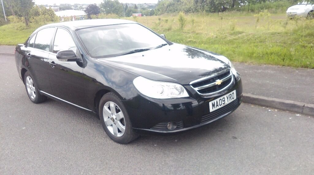 Chevrolet Epica 09 plate 2 litre diesel 12 month MOT PASSED FIRST TIME