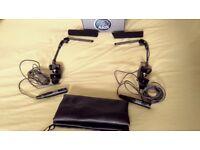 AKG C747 pair of professional microphones (made in Austria)