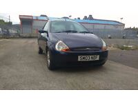 FORD KA 1.3 LUXURY FULL LEATHERS LONG M.O.T. GREAT CAR!! QUICK SALE £575!!