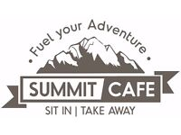 Full Time Cafe Supervisor - Summit Cafe within the Tiso Edinburgh Outdoor Experience store