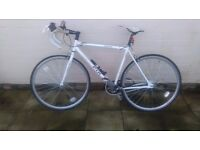 Second hand- Viking Road Single speed Fixie Race Bike 56cm Citifix