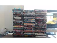 100 dvds all good condition all genres