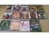 Ps3 and xbox one games