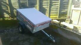 Erde 121 metal heavy duty tipper galvanized trailer