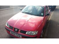Seat Ibiza S - Red, 1.4L, *64,000* miles - FOR SALE