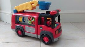 ELC Fire Engine with Sounds and Lights inc Batteries