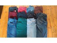 13 Pairs of Women's Jeans (UK 10/12)