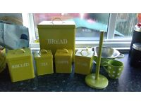 Kitchen Set in Lime Green
