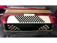72 Bass Hohner Arietta IIM Accordion
