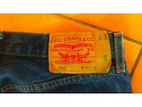 Levi's 501 Jeans Perfect Condition. Worn 2/3 times. £20