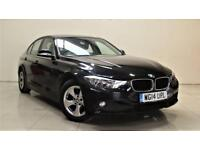 BMW 3 SERIES 2.0 320D EFFICIENTDYNAMICS 4d AUTO 161 BHP + TOP SPEC WITH ALL THE EXTRAS (black) 2014