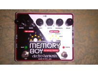 EHX Deluxe Memory Boy, near mint condition
