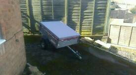 Erde metal galvanized mint trailer tailgate tipper camping