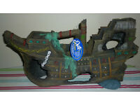 "Exoctic Super Sized Sunken Galleon 22"". BNWT. Ornament."
