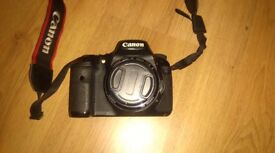 Canon 7d Camera with 50mm 1.8 lens
