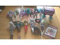 Joblot/ Bundle of 13 Monster High dolls for sale