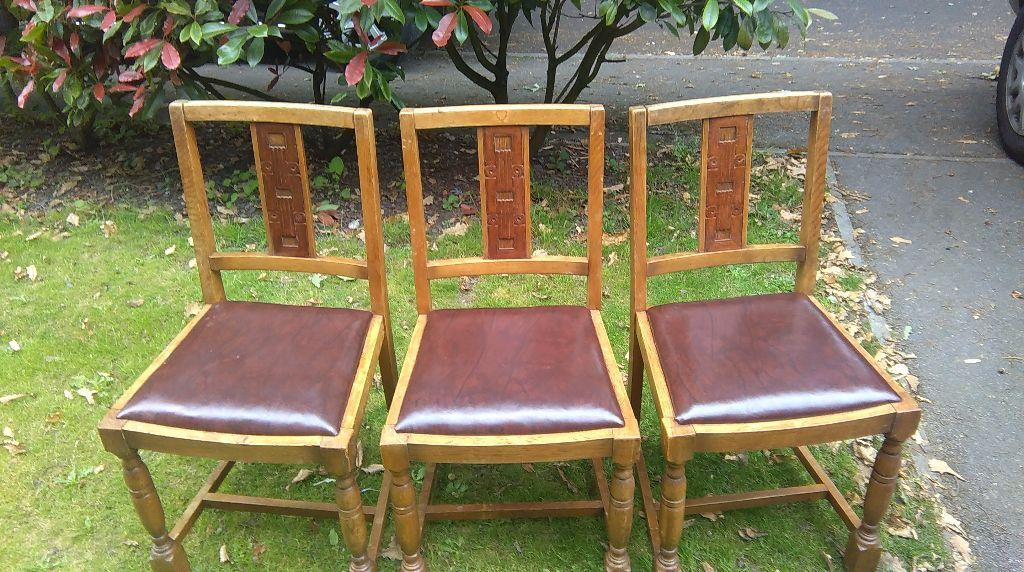 SET OF THREE VINTAGE ERCOL DINING CHAIRS.. (1930u0027S / 1940u0027s . & SET OF THREE VINTAGE ERCOL DINING CHAIRS.. (1930u0027S / 1940u0027s ... islam-shia.org