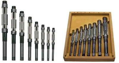 Adjustable Hand Reamer Set Of 8 Pcs H4 To H11 Size 1532 To 1.116 Wooden Box