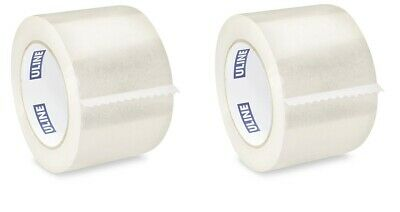 Uline Clear Packing Shipping Tape S-445 3in X 110yds 2mil 2pack