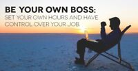 Work for home, create your own hours, great income potential