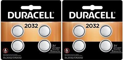 8 Duracell CR 2032 ECR2032 CR2032 DL 2032 3V Lithium Battery Exp 2027 comprar usado  Enviando para Brazil