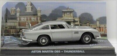 1965 Aston-Martin DB5 James Bond 007 Movie Thunderball 1/43 Scale Car New In Box