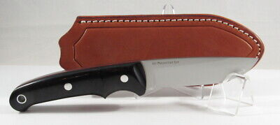 Bark River Guardless Drop Point Hunter, CPM154, Black Canvas w/Red Liners, 1st