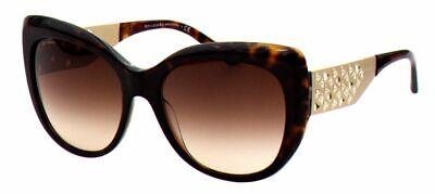 Bvlgari Damen Sonnenbrille 8198-B 5441/13 57 mm havana schmetterling  S DO2 H (Bvlgari Sonnenbrille Damen)