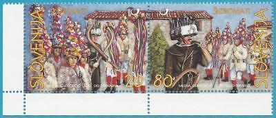 Slowenien aus 1999 ** postfrisch MiNr.252-253 Zweierpaare - - Frische Kostüm