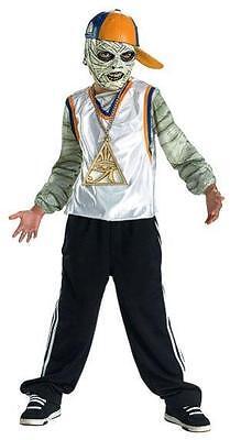Wrapper Mummy Rap Star Time Child Costume Tween 14-16