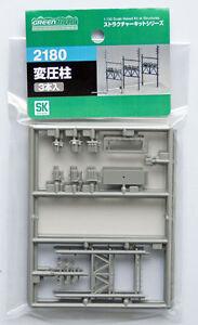 Greenmax-No-2180-Transformer-Pole-Set-1-150-N-scale
