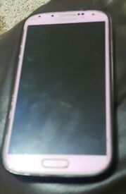 Samsung S4 Unlocked all Network Pink Limited Editon Version
