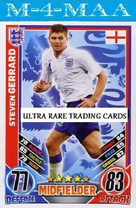 STEVEN-GERRARD-Limited-Edition-EURO-MATCH-ATTAX-ENGLAND-2012-Ultra-Rare
