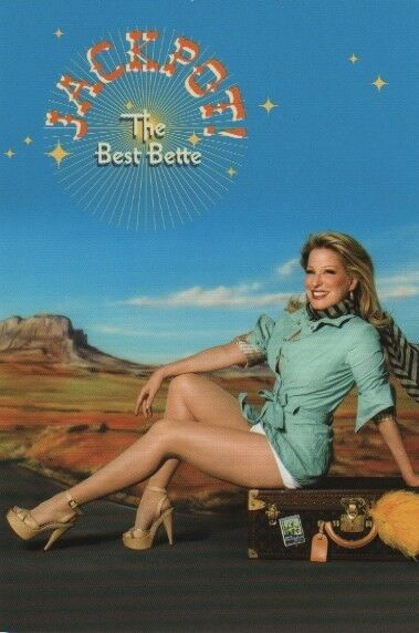 Bette Midler cards - Jackpot The Best Bette - promo card (lot of 5)