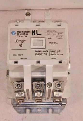1 USED WESTINGHOUSE A202K3CA AC LIGHTING CONTACTOR MODEL J 100A ***MAKE OFFER***