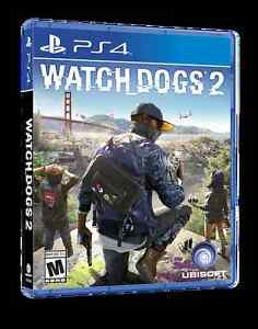 Selling sealed brand new PS4 of Watch Dogs 2
