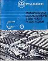 Manuale Uso E Manutenzione Piaggio Vespa Px 125e 150e 200e Scansione Pdf - vespa - ebay.it