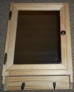 A Rustic Unfinished Handmade Mirror Door Bathroom Medicine Cabinet With Towel Ho Ebay