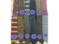 Ties Italian silk new