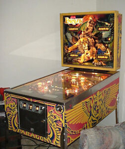 Looking for a paragon pinball machine. Any condition